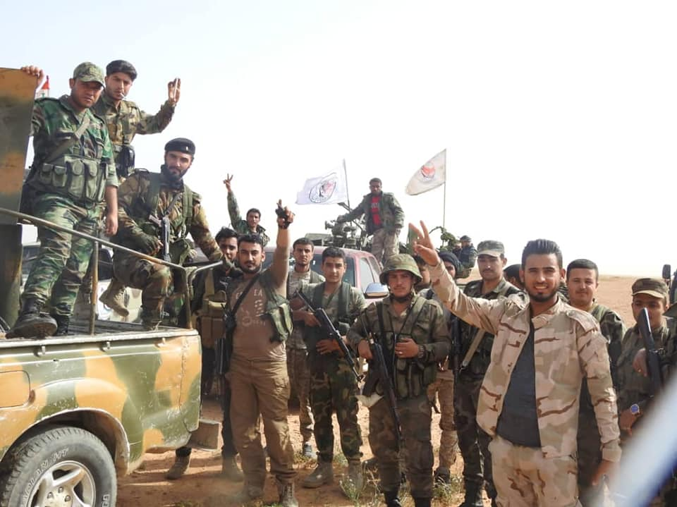 In Photos: Syrian Army And Pro-Government Militia Conduct Operation Near Iraqi Border