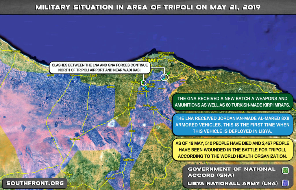 Stalemate Near Tripoli: Libyan National Army Fails To Deliver Devastating Blow To GNA Forces