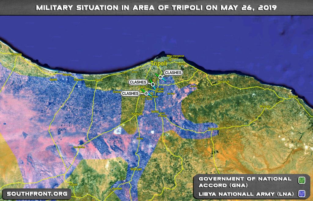 Map Update: Stalemate Near Libya's Tripoli