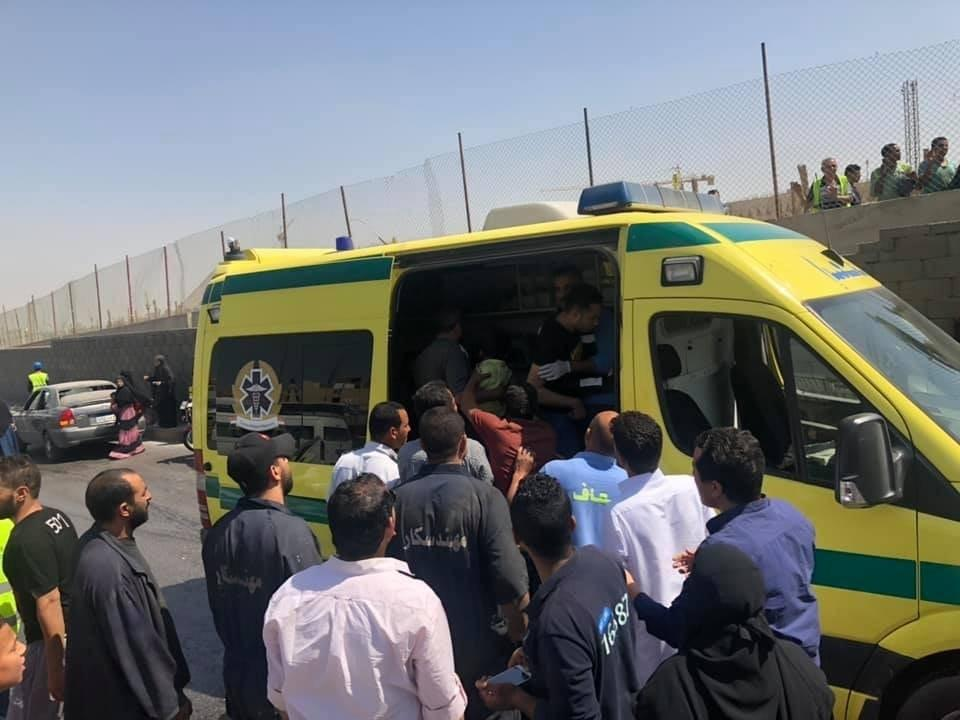 At Least 15 People Injured In Terrorist Attack On Tourist Bus In Egypt (Photos)