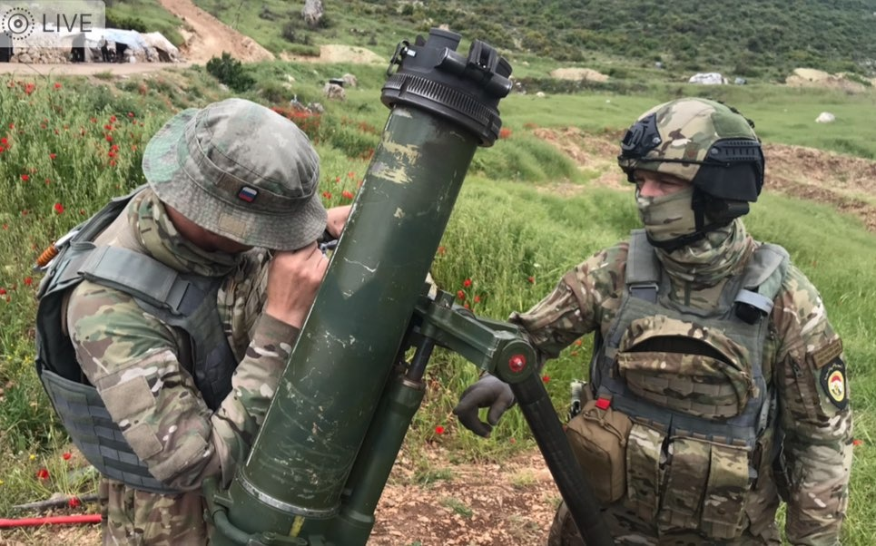 In Photos: Russian Military Advisers Support Syrian Army Operation In Northwestern Hama