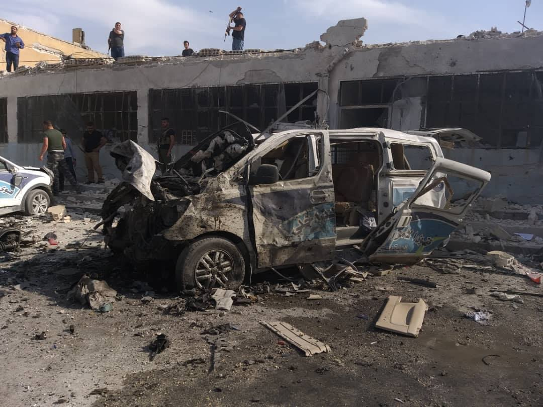 Car Bomb Targets SDF Security Forces Center In Manbij, Casualties Reported (Photos)