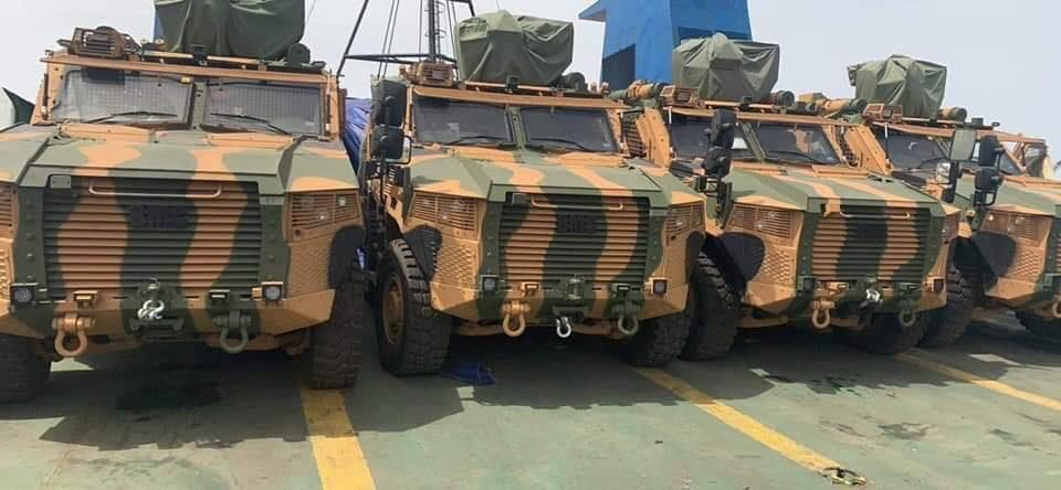 New Photos Reveal More Information About Turkish Arms Shipment To Libya