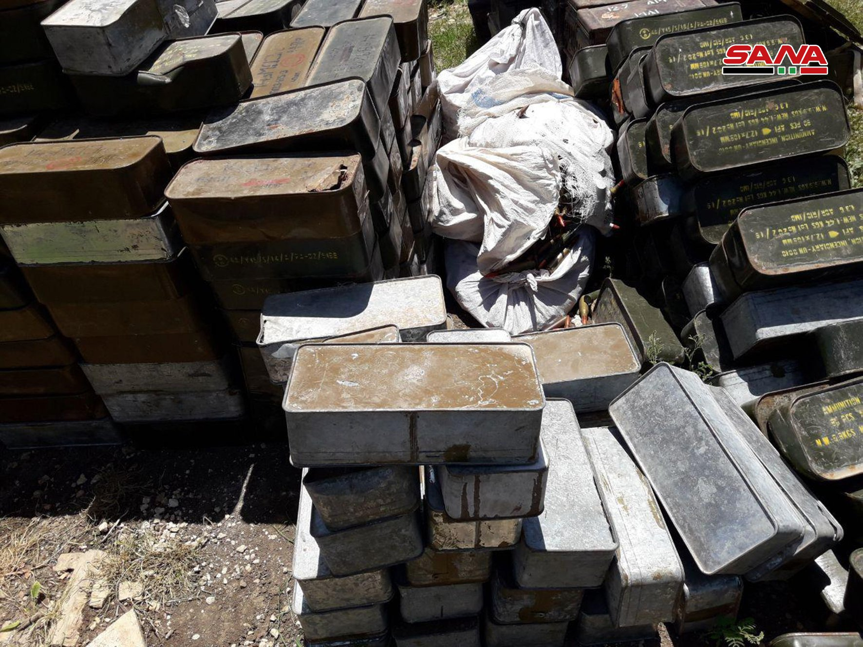 Army Uncovers Loads Of Weapons, Tunnel In Newly Captured Positions In Northern Hama (Photos, Video)
