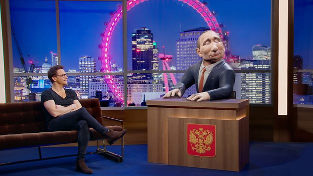 Your Daily Dose Of MSM Propaganda: 3D Rendered Vladimir Putin To Be BBC Two's New Show Host