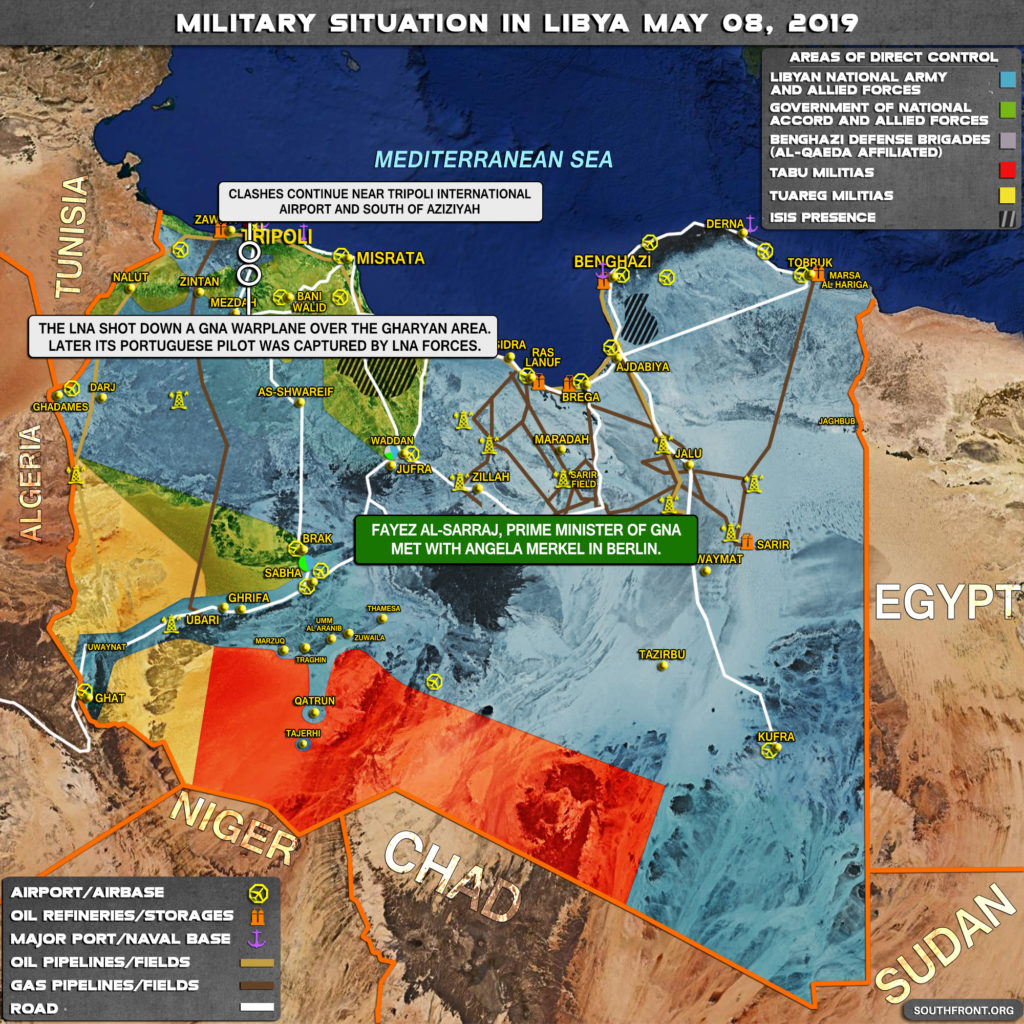 Military Situation In Libya On May 8, 2019 (Map Update)