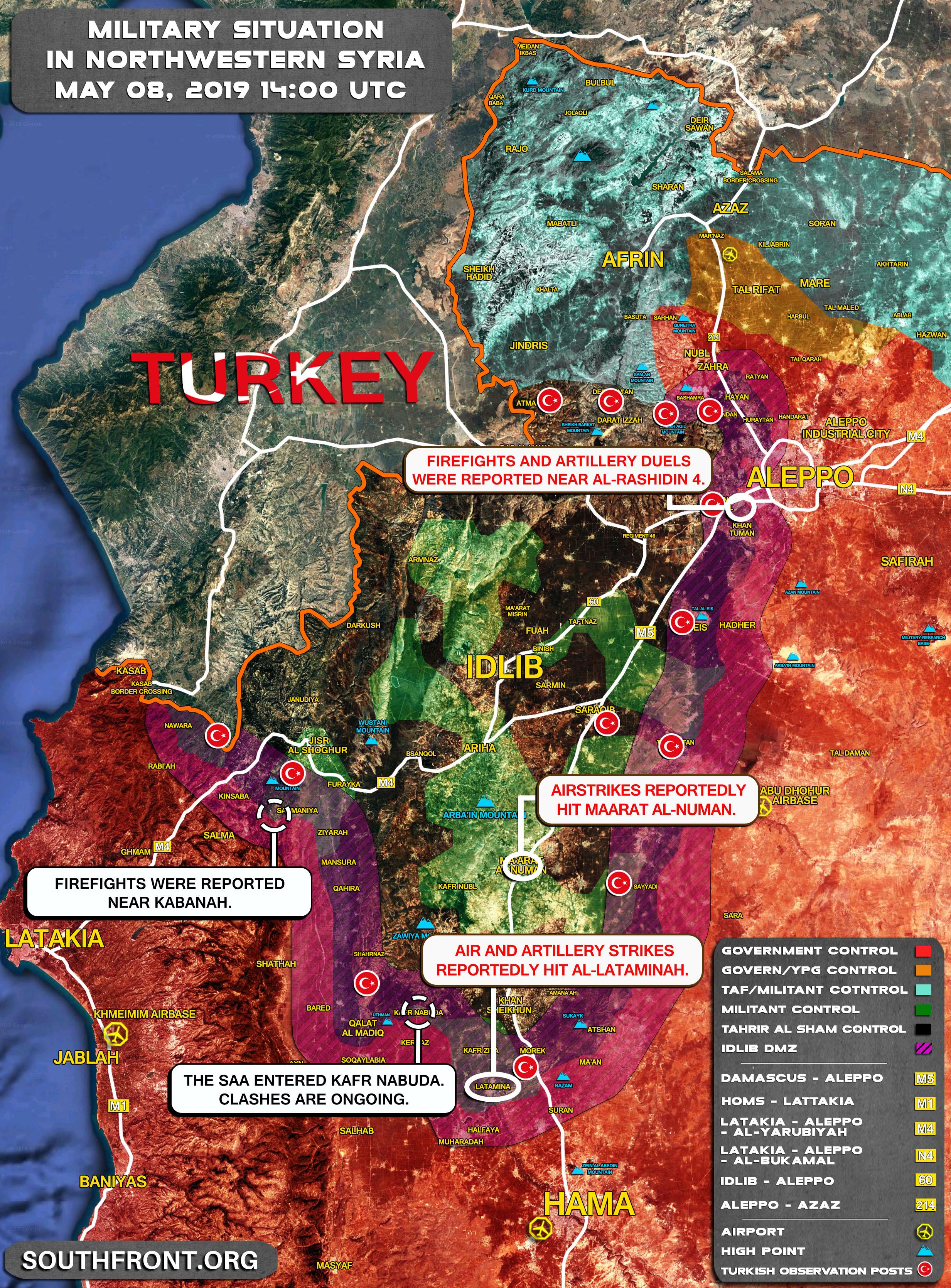 Rocket bay như mưa tấn công KQ Nga ở Syria - Bắn hạ toàn bộ - Ảnh 3.