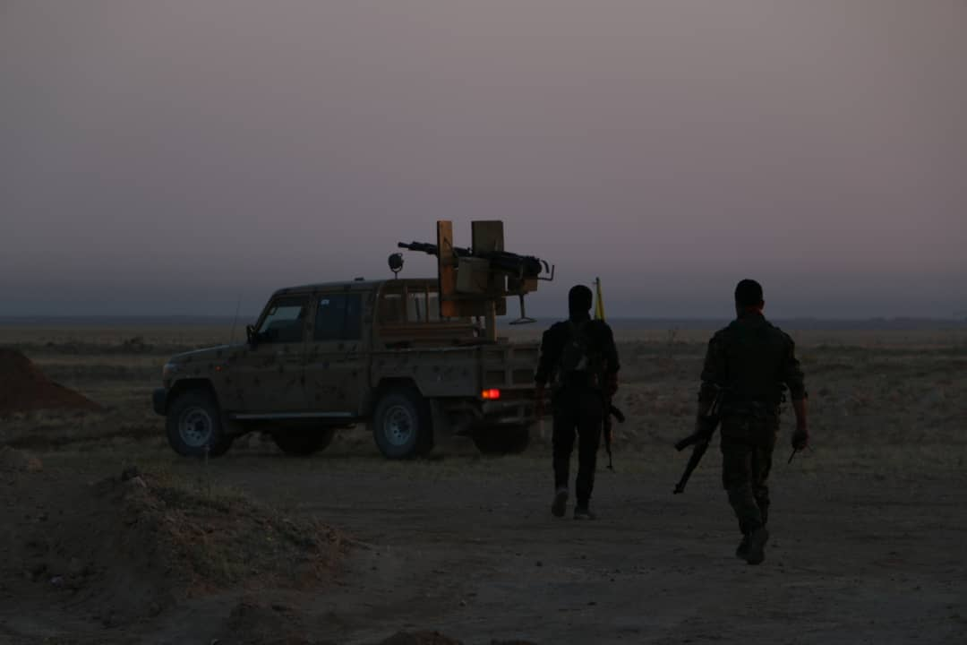 US-Backed Forces Launched Large-Scale Security Operation In Southeastern Deir Ezzor After Wave Of Protests (Photos)