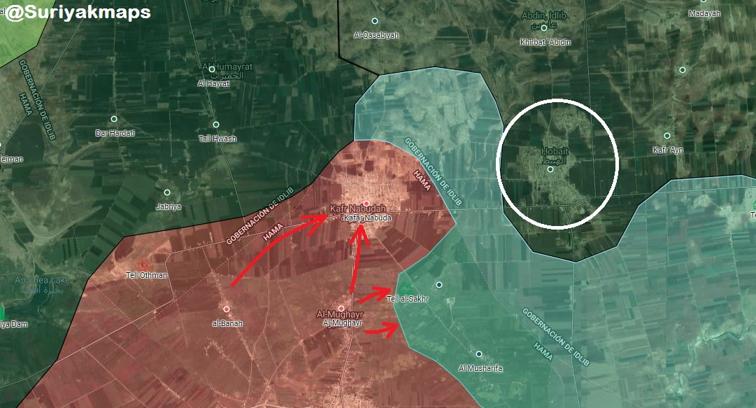 Syrian Army Re-Enters Kafr Nabudah Following Rapid Attack (Map)