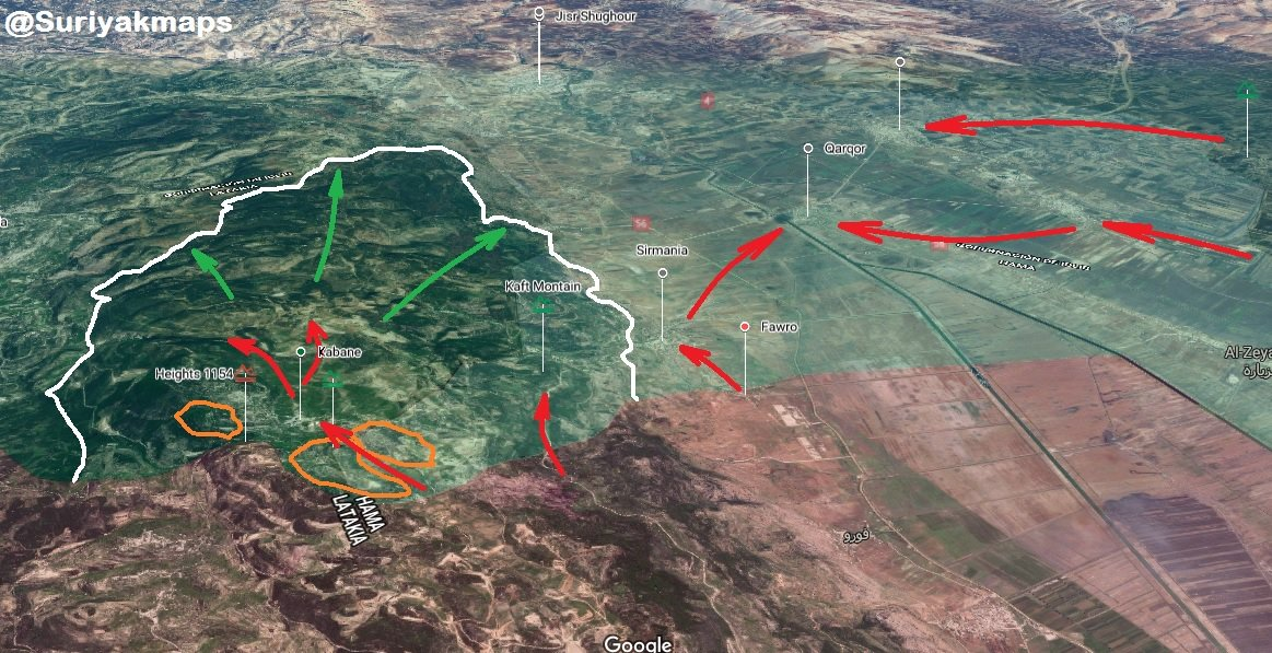 Hay'at Tahrir Al-Sham Repels Syrian Army Attack In Northern Lattakia, Decapitates Syrian Soldiers (Map)