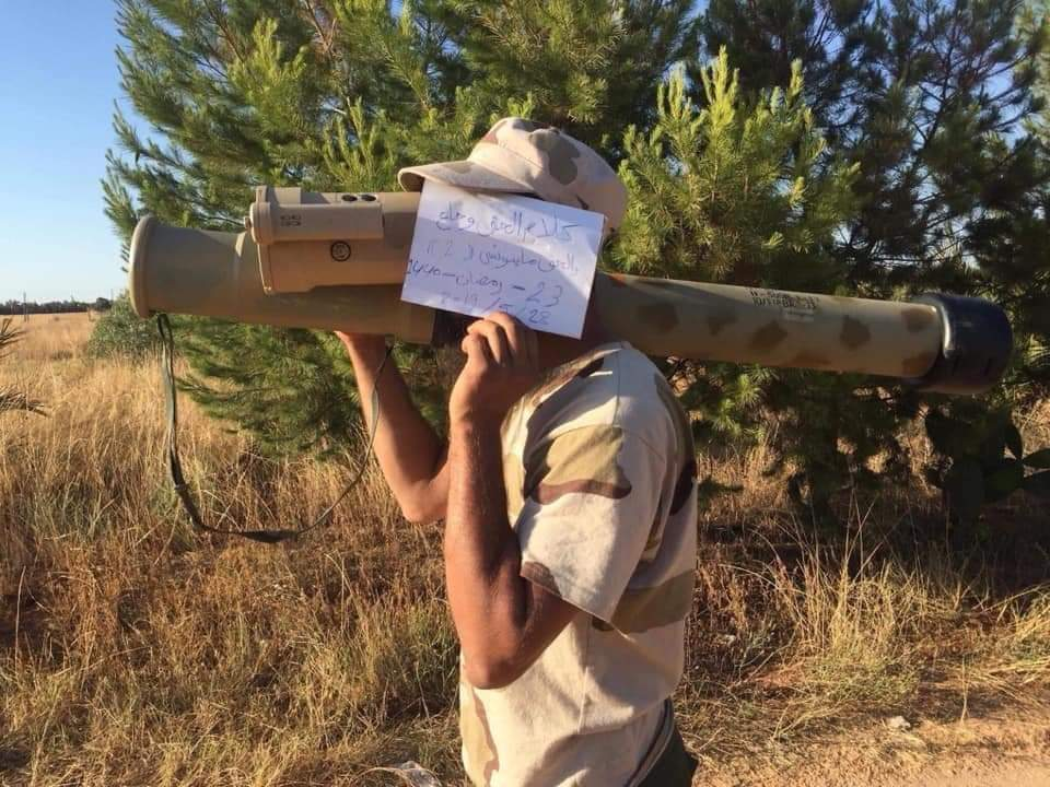 LNA Has Acquired Advanced Russian-Jordanian RPG-32 Anti-Tank Weapon