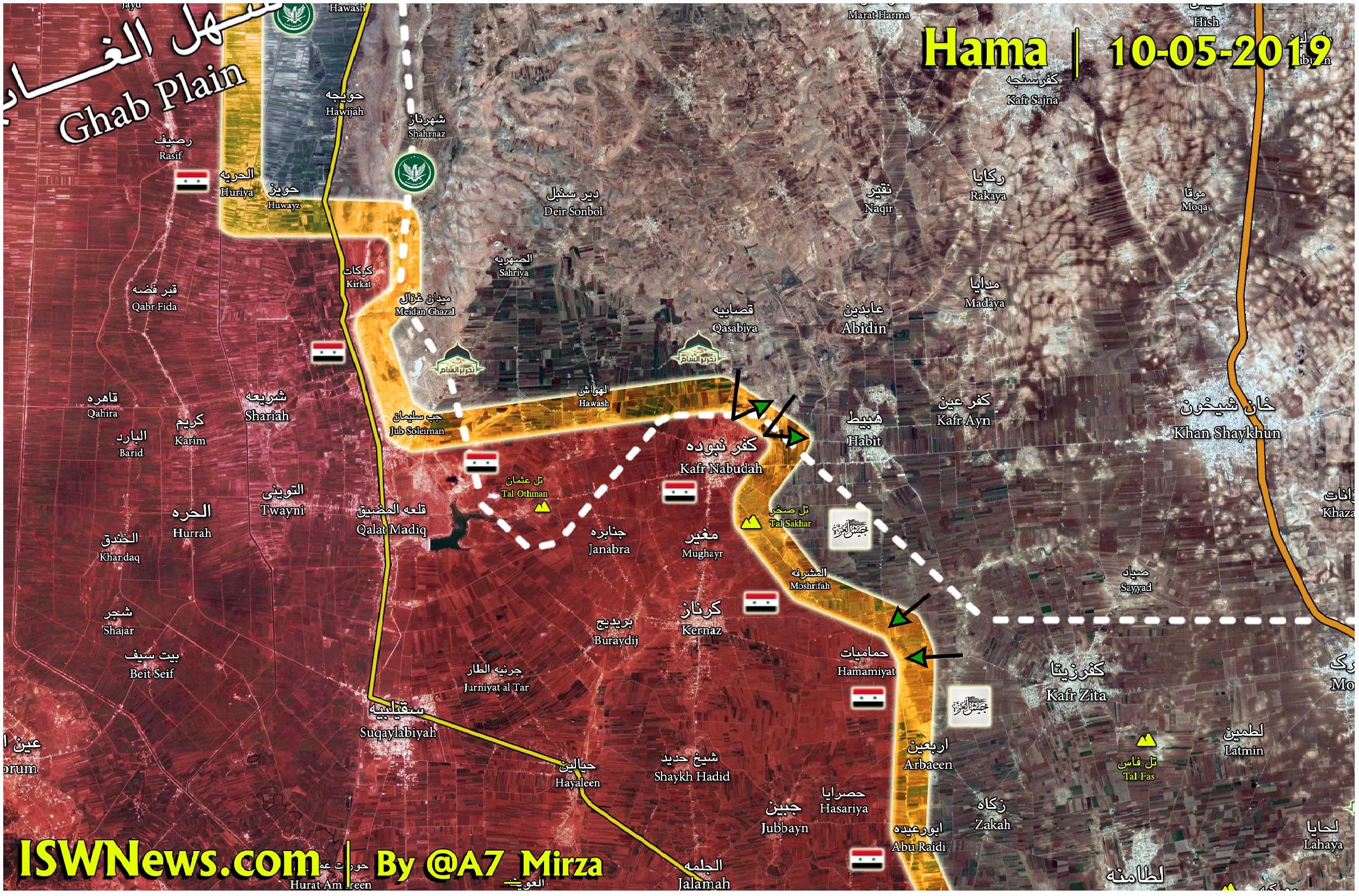 Syrian Army Secures Kafr Nabudah After Eliminating Dozens Of Terrorists Inside It (18+ Photos, Map)