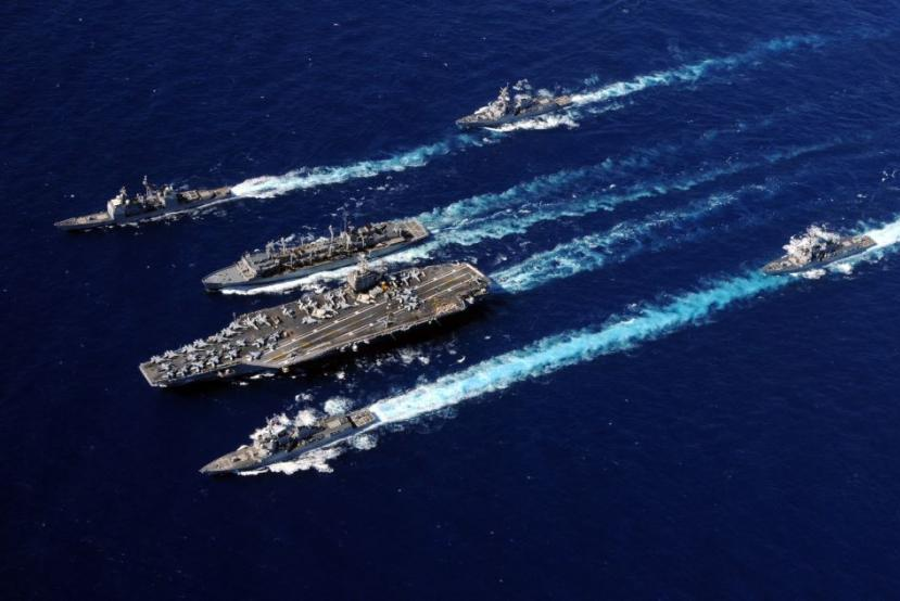 """US Sends Carrier Strike Group To """"Deter"""" Iran"""