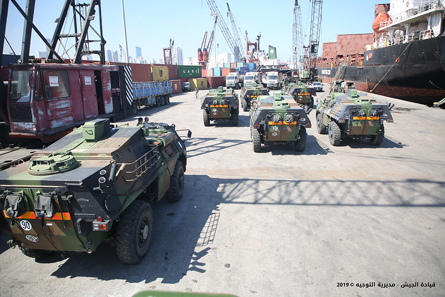 Lebanese Military Receives Ten Anti-Tank Guided Missile Carriers From France (Photos)