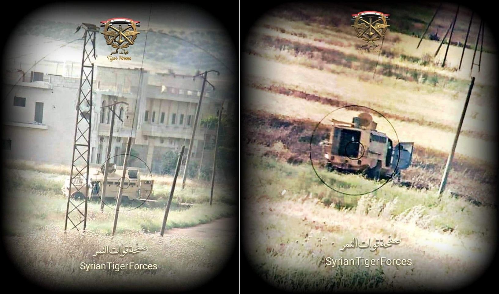 Syrian Army Destroyed Turkish-Supplied Armored Vehicles Around Kafr Nabudah (Video, Photos)