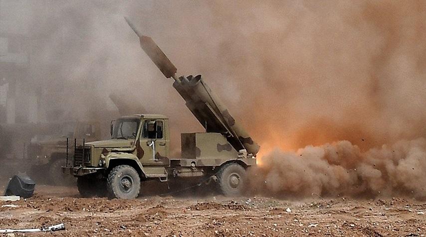 Syrian Army Intensifies Strikes On Wanted Gunmen In Daraa Al-Balad (Videos)
