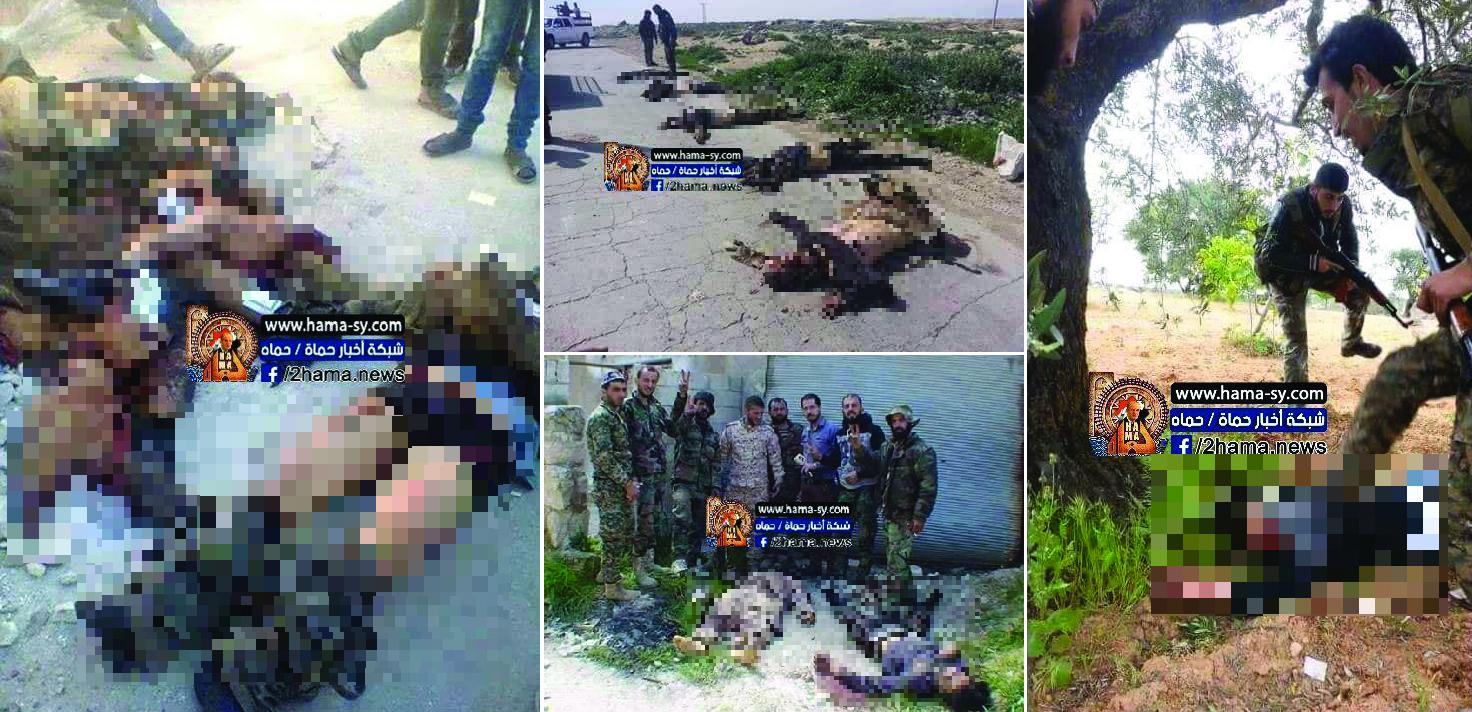 Sýrska Armáda Zabezpečuje Tlačidlo Mesto V Severozápadnej Hama, Zabíja A Zachytáva Desiatky Teroristov (Video, Fotografie)