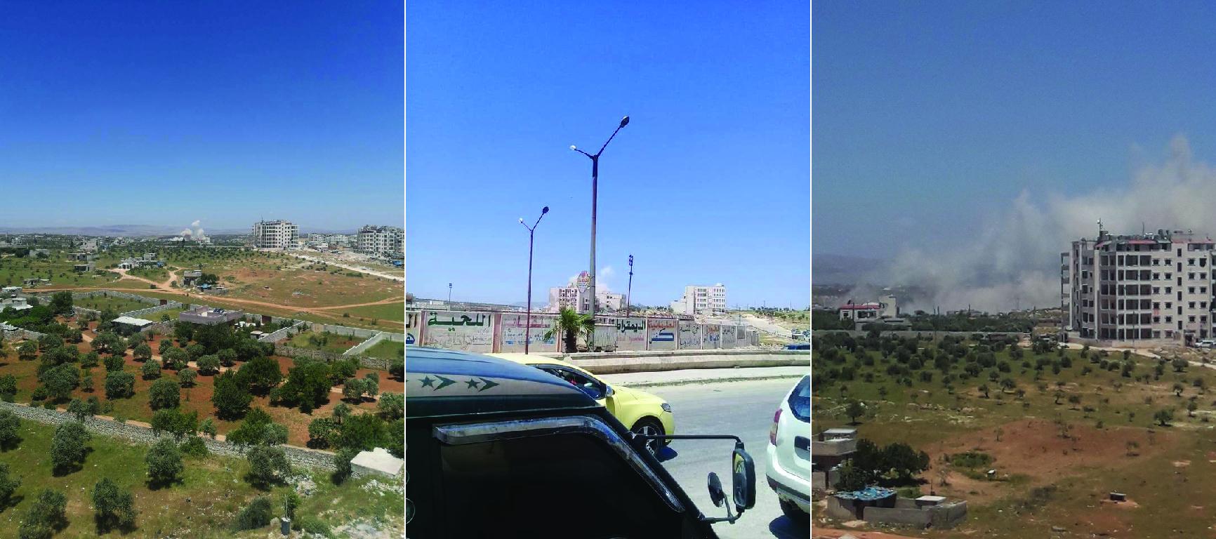 Large Explosion Rocks HTS Ammo Depot Near Idlib City Center