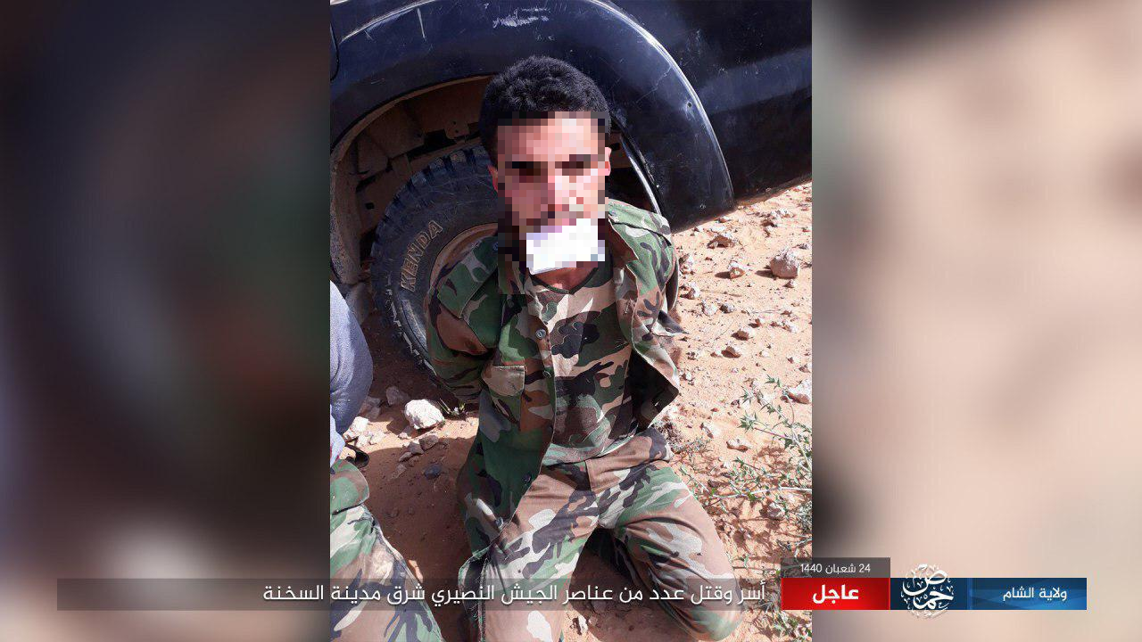 ISIS Fighters Kill & Capture Several Syrian Service Members In Eastern Homs (Photos)