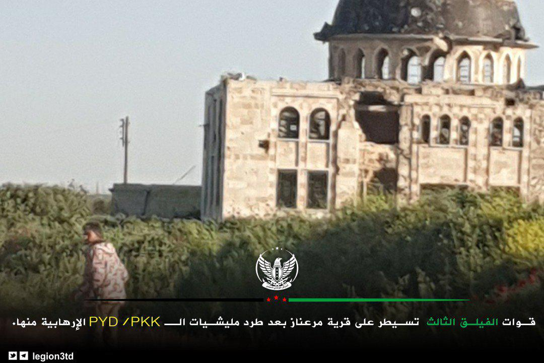 Turkish-Backed Militants Launch Surprise Military Operation In Northern Aleppo, Capture Key Town South Of Afrin (Photos)