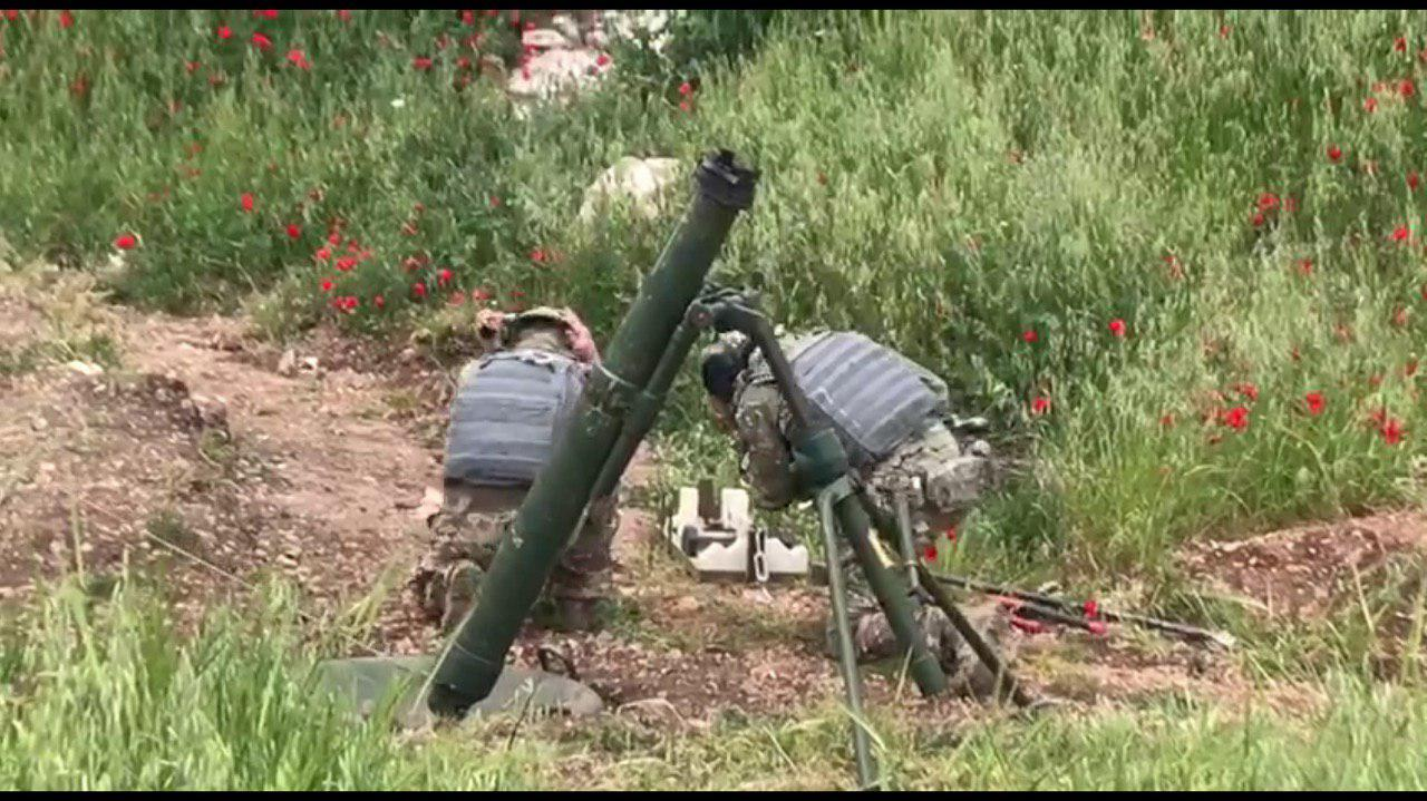 New Photos Show Heavily-Armed Russian Forces In Northern Hama