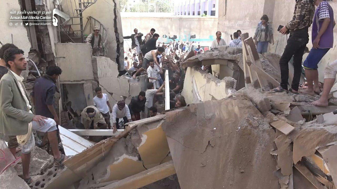 New Wave Of Saudi Airstrikes Kills & Injures 77 Civilians, Including Russian Citizens, In Sanaa (18+ Photos)
