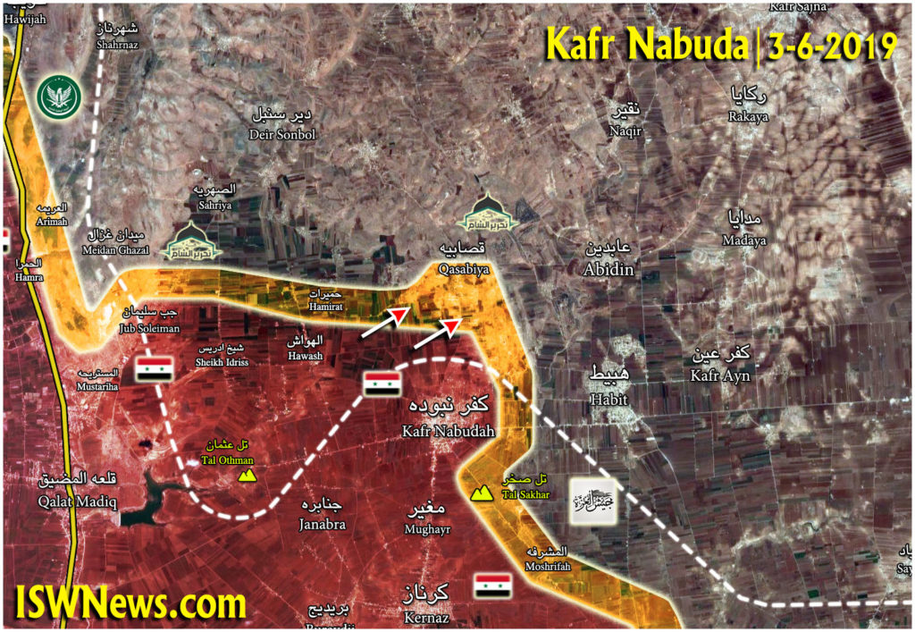 Syrian Army Launched Advance On Militant Positions North Of Kafr Nabudah (Map Update)