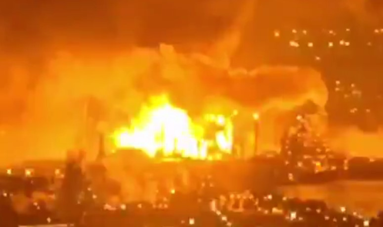 In Video: Massive Explosion Rocks Oil Refinery In Philadelphia