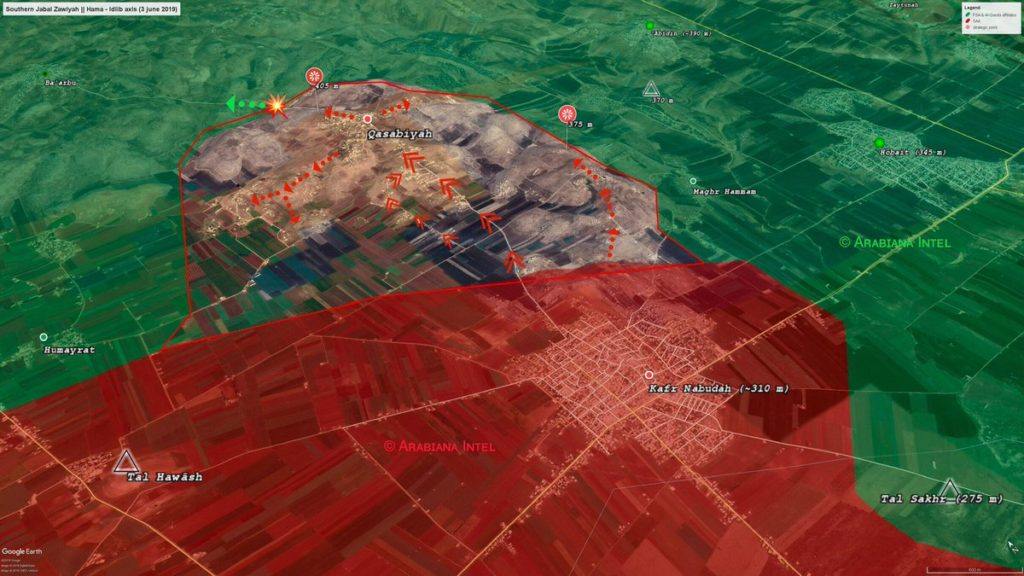 Map Update: A Closer Look At Syrian Army's Advance North Of Kafr Nabudah