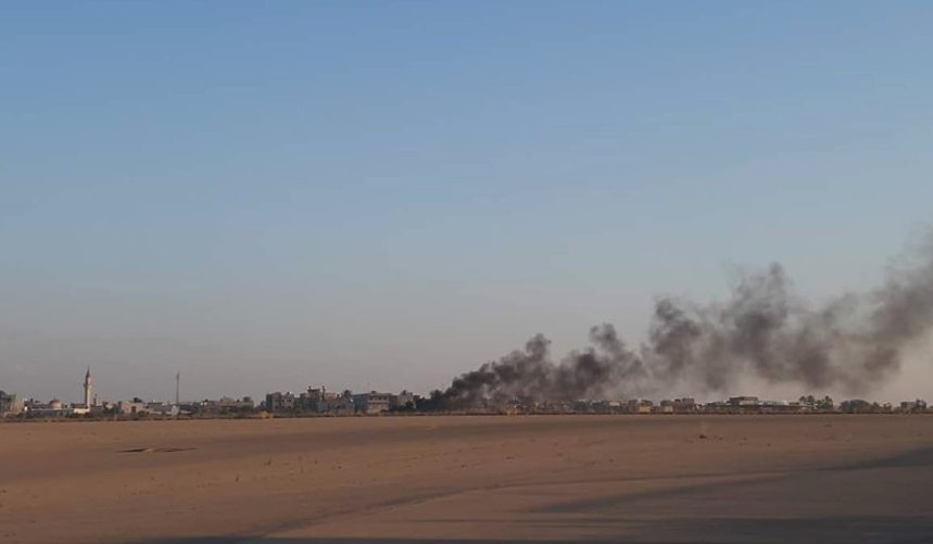 Libyan National Army Airstrike Destroyed Turkish UCAV At Mitiga Airbase: Reports