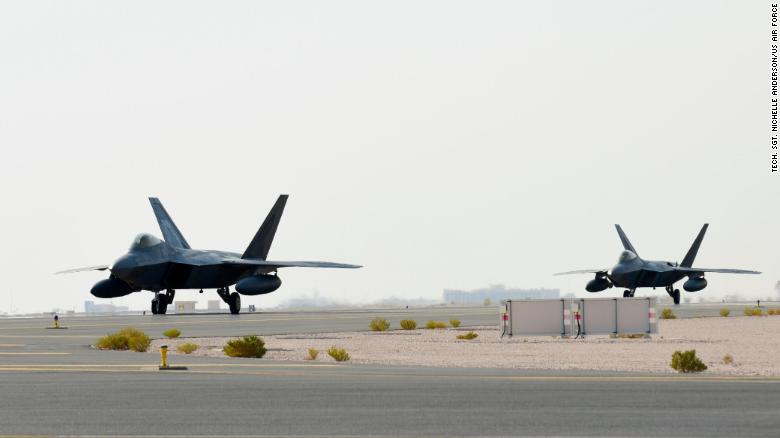 U.S. Deploys F-22 Stealth Fighters At Qatar Airbase To Counter Iran