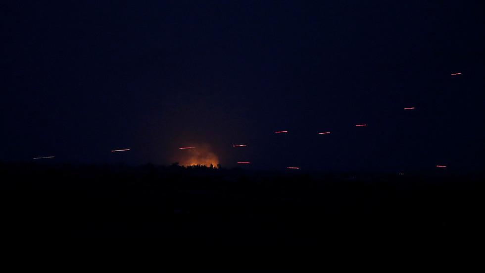 Israeli Missile Strike Hits Southern Syria (Video)