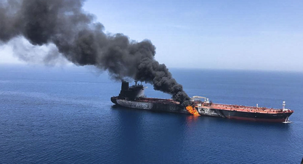 Pompeo: U.S. Believes Iran Is Responsible For Attack On Tankers In Gulf Of Oman