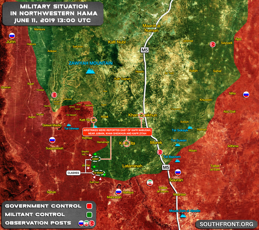 Militants Claim Syrian Army Lost Dozens Of Military Equipment In Northern Hama (Map, Video)