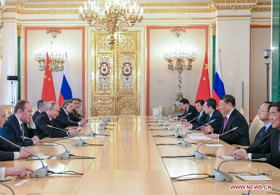 Russian And China Deepen Strategic Cooperation