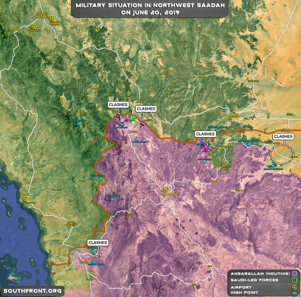 Ansar Allah Continues Attacks On Saudi-led Forces Amid Growing Tensions In Persian Gulf (Map, Infographics)