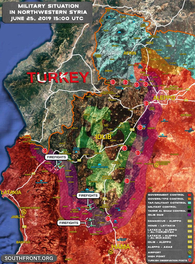 Syrian Military Deploying Reinforcements Near Kafr Nabudah In Northwestern Hama (Map Update)