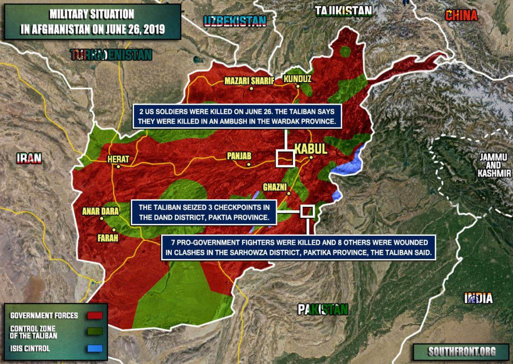 2 US Soldiers Killed In Supposed Taliban Ambush In Afghanistan (Map)
