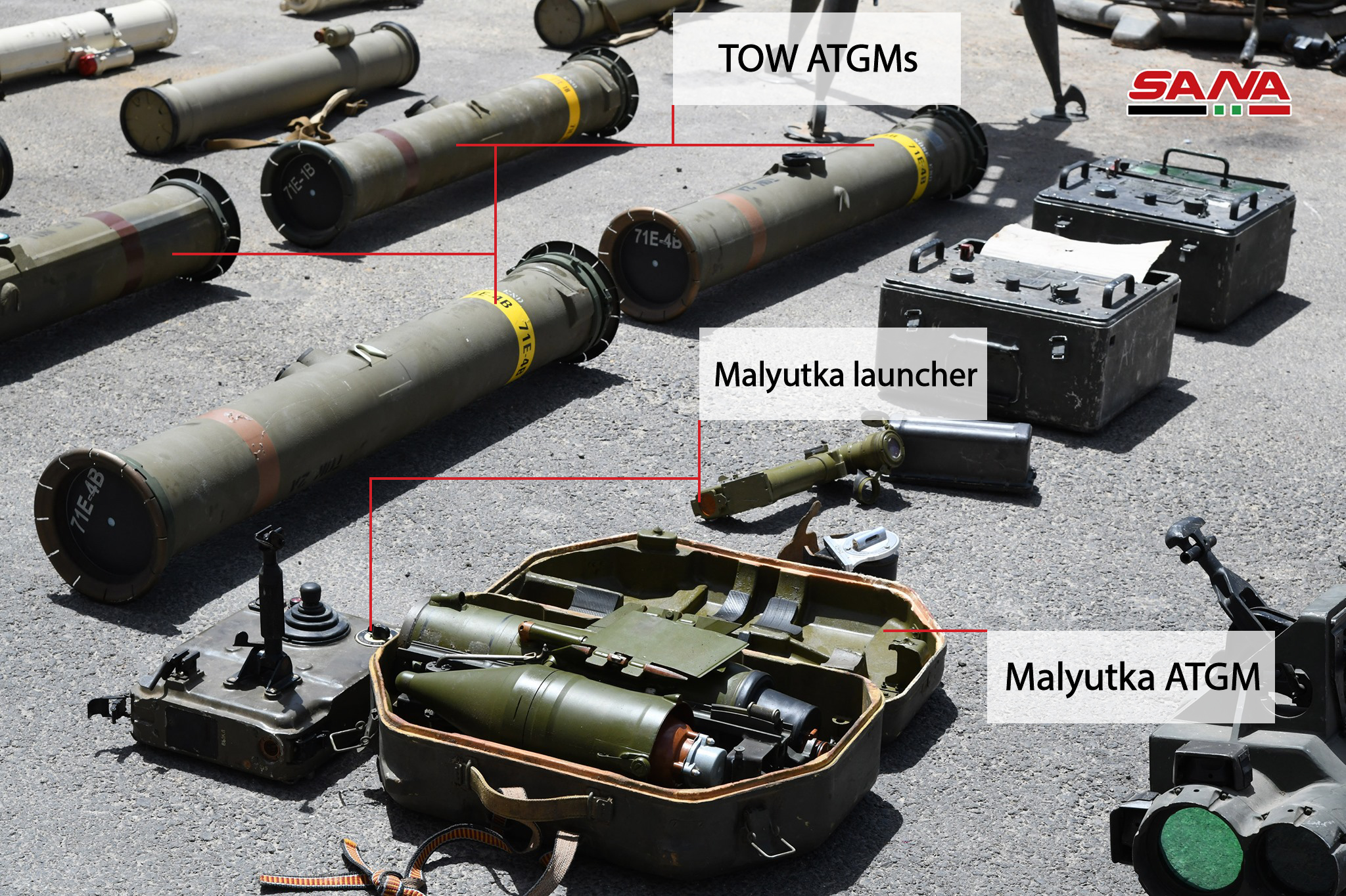 Army Uncovers Loads Of Guided Missiles, Armed Drone In Southern Syria (Video, Photos)
