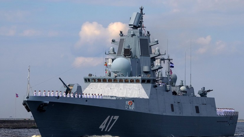 Russian Warship Naval Group Arrives in Cuba