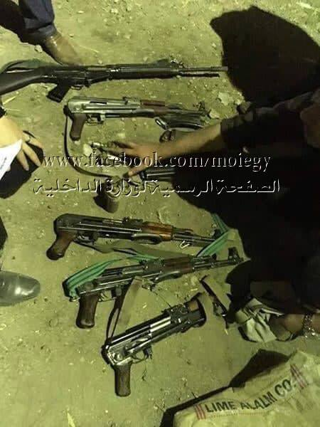Egyptian Security Forces Eliminated Terrorists Responsible For Recent Attack Near Arish (Photos)