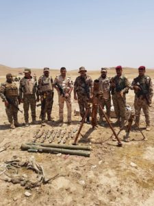 Iraqi Intelligence Uncovers Anti-Aircraft Missiles Near Mosul (Photos)