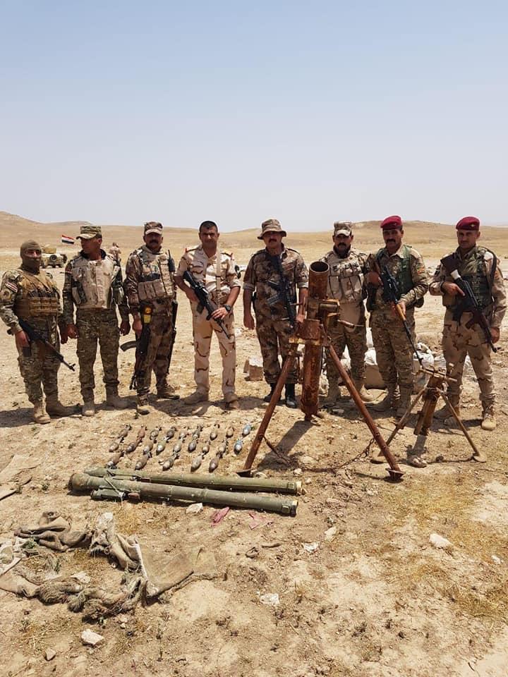 Iraqi Intelligence Uncovers Anti-Aircraft Missiles Near Mosul (Photos)