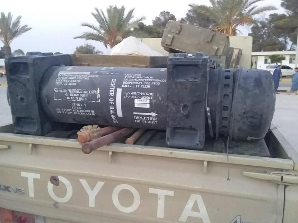 Javelin Missiles Captured In Libya Were First Sold To France: Officially