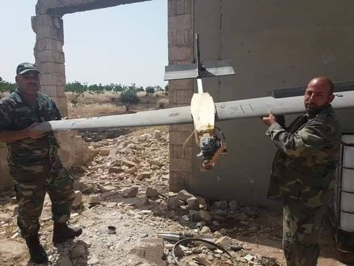 Syrian Army Repels Limited Attack, Shoots Down Armed Drone In Northern Hama (Video)