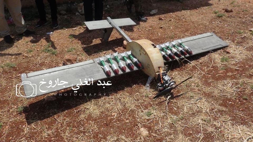 Syrian Army Shoots Down Armed Drone Near Hama Airbase (Photos)