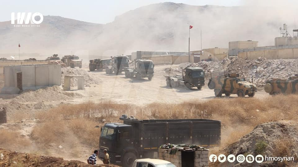 Turkish Observation Post In Northwestern Hama Once Again Came Under Artillery Fire (Video, Photos)