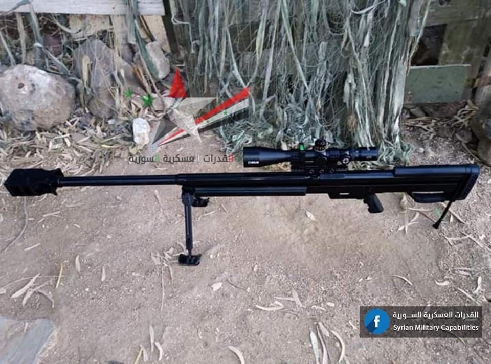 GOLAN S-01, First Syrian-Made Sniper Rifle (Photos)