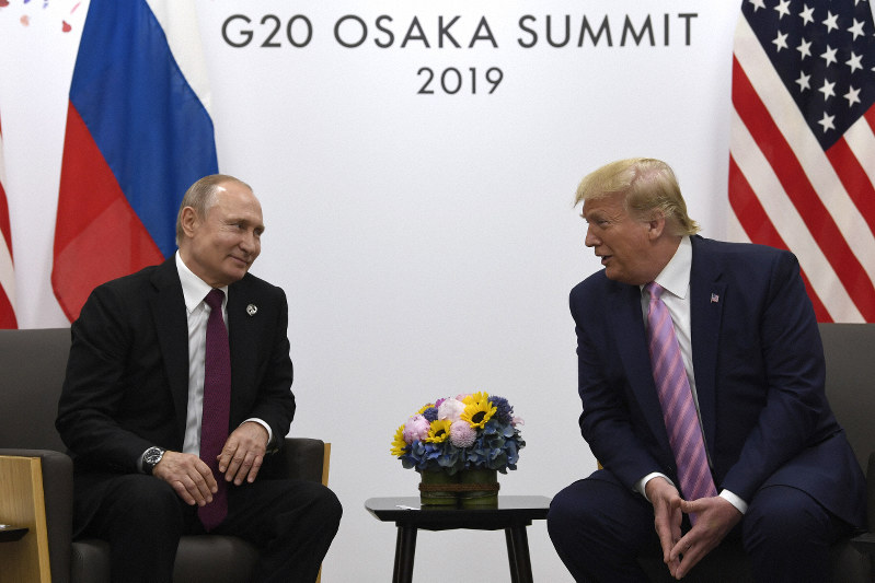 Trump And Putin Meet For Third Time, Now At G-20 Summit