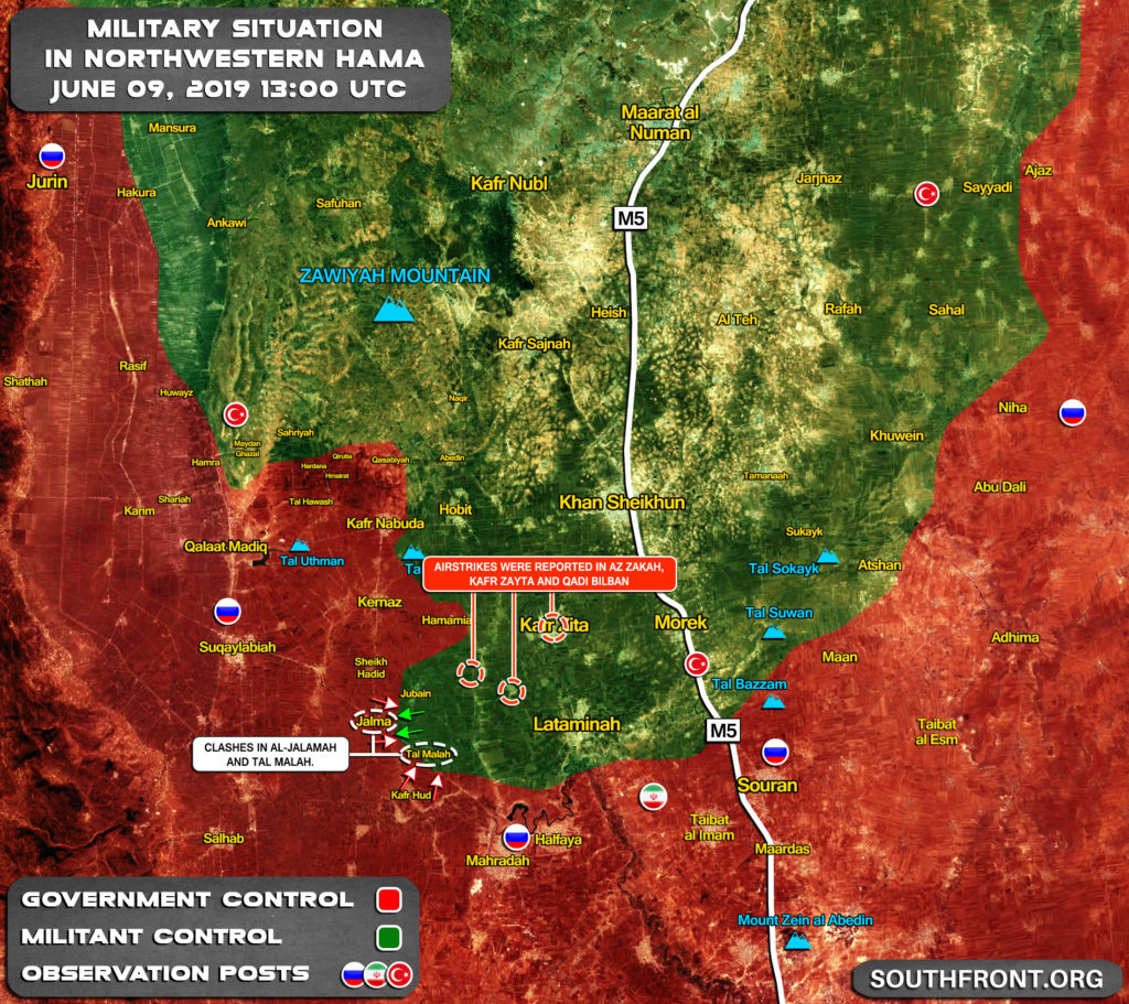 Fierce Clashes Between Army And Militants Continue In Northern Hama (Map Update)